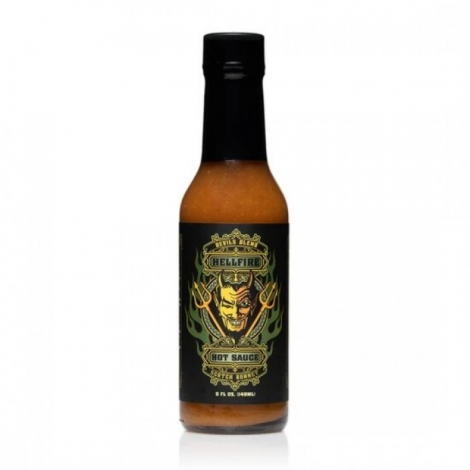 Hellfire Devils Blend Scotch Bonnet Hotsauce