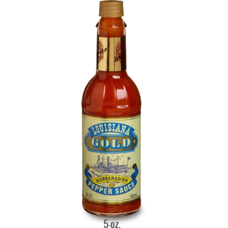 Louisiana Gold Horseradish Hot Sauce